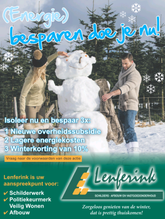 Winterkorting bij Lenferink!